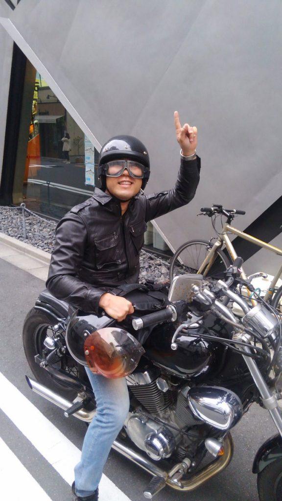バイク 小峠